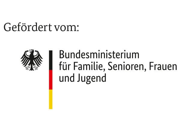 Semper Gymnasium Dresden Förderverein BMFSFJ Logo