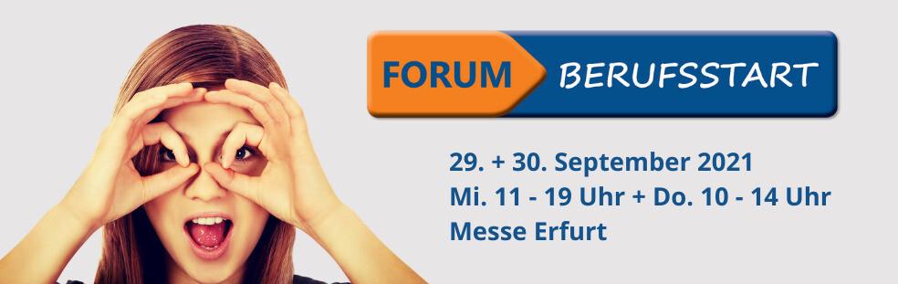 Plakat Forum Berufsstart